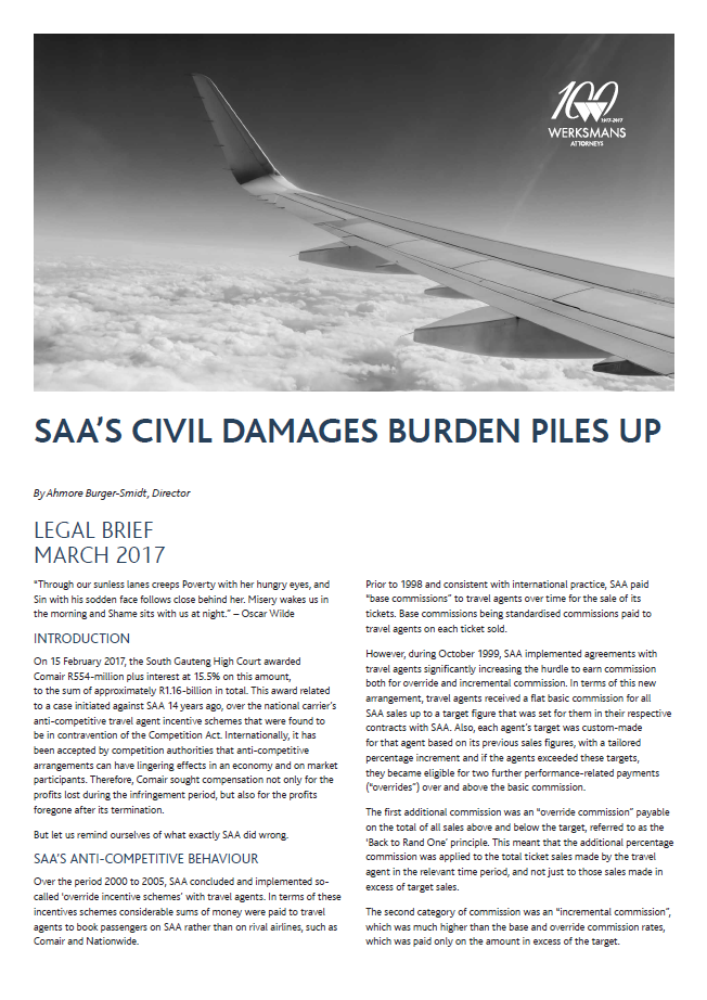 SAA civil damages burden piles up