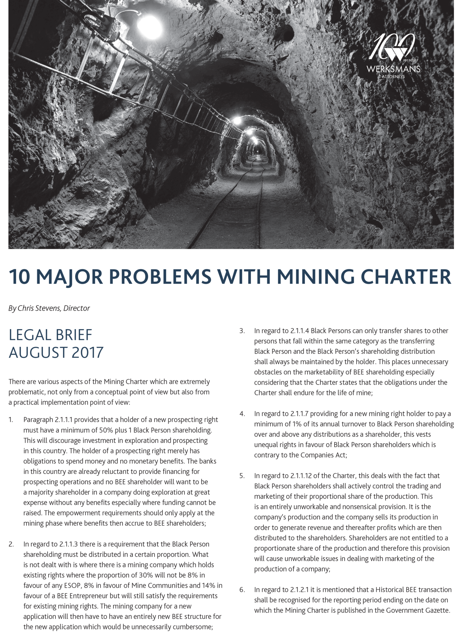 16829 August Legal Brief_Mining-FA-1