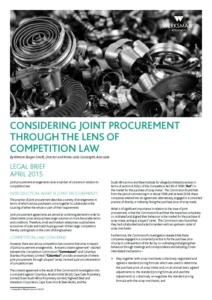 042837-WERKSMANS-legal-brief-joint-procurement